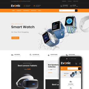 Template Electronice OpenCart #82941