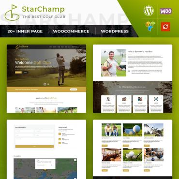 Template Sport WordPress #82981