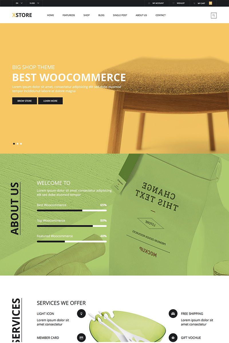 X-Store Furniture WooCommerce Theme