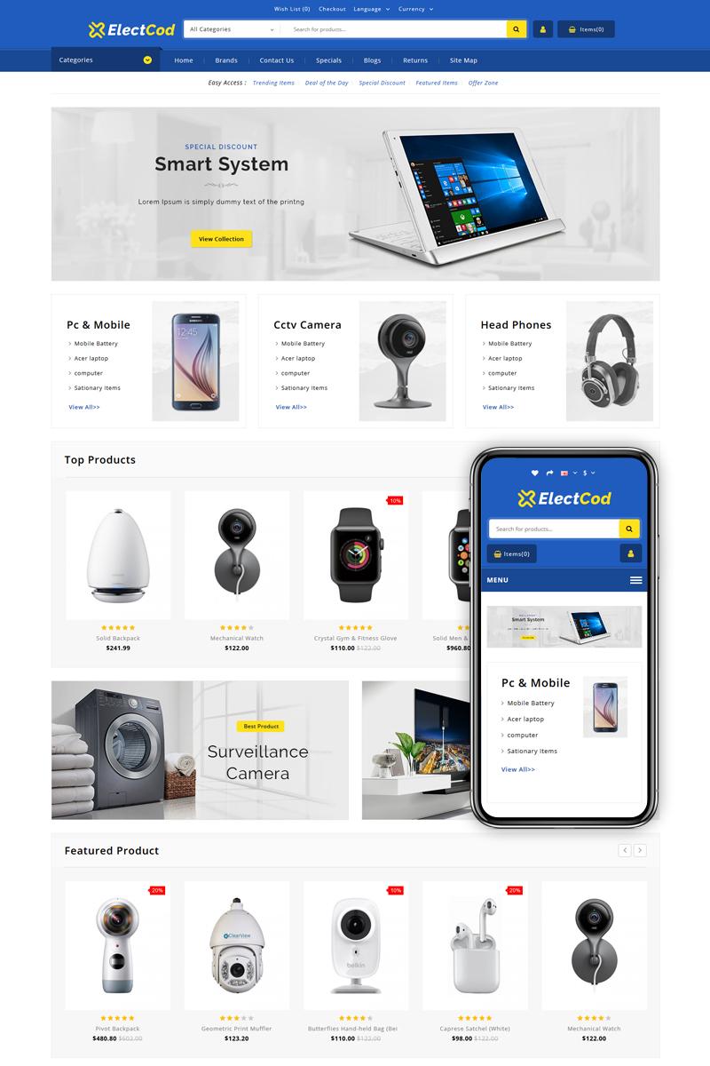 Electcod - Multipurpose Store OpenCart Template
