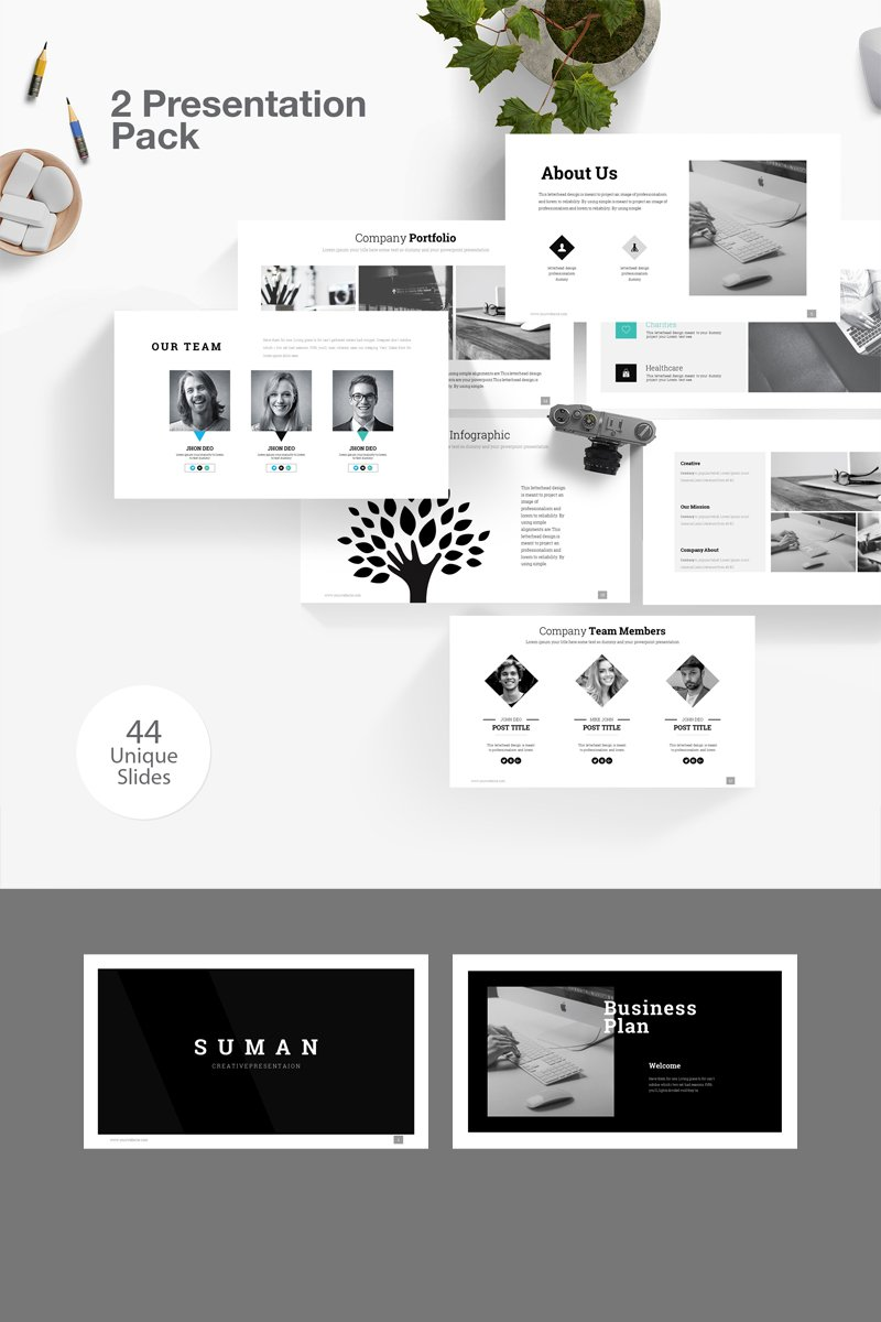 Suman 2 PowerPoint Template