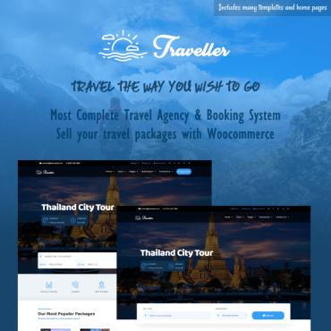 Template Turism WordPress #83049