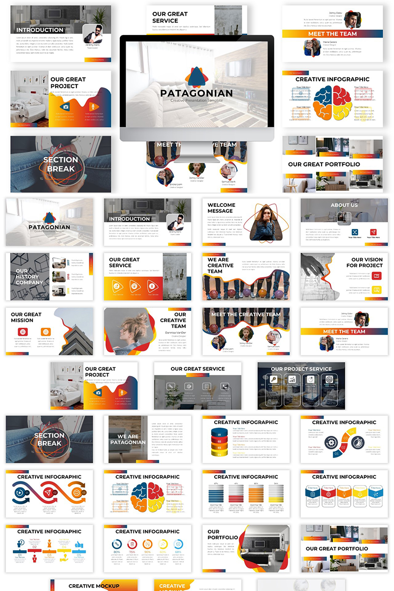Patagonian PowerPoint Template