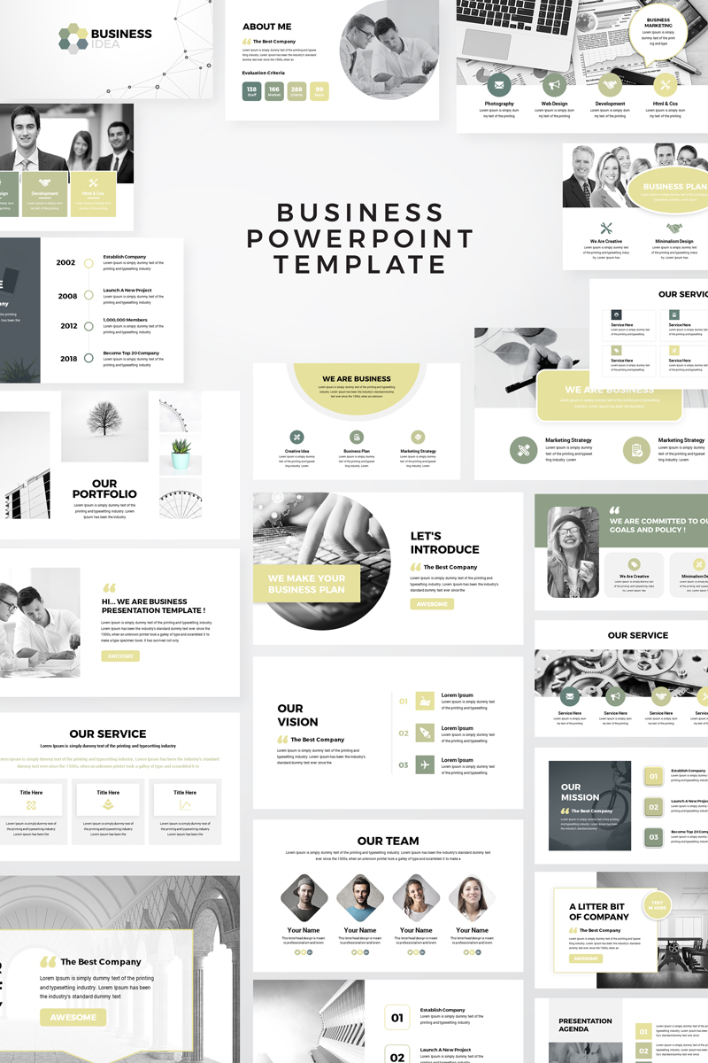 Business Idea PowerPoint Template