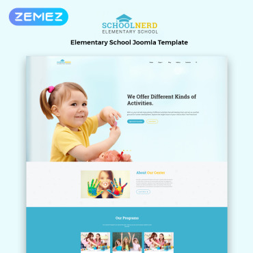Template Educație Joomla #83108