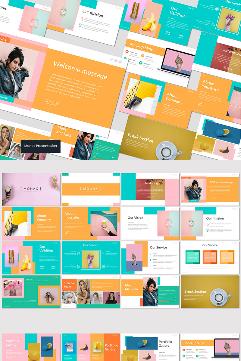 Monax PowerPoint Template