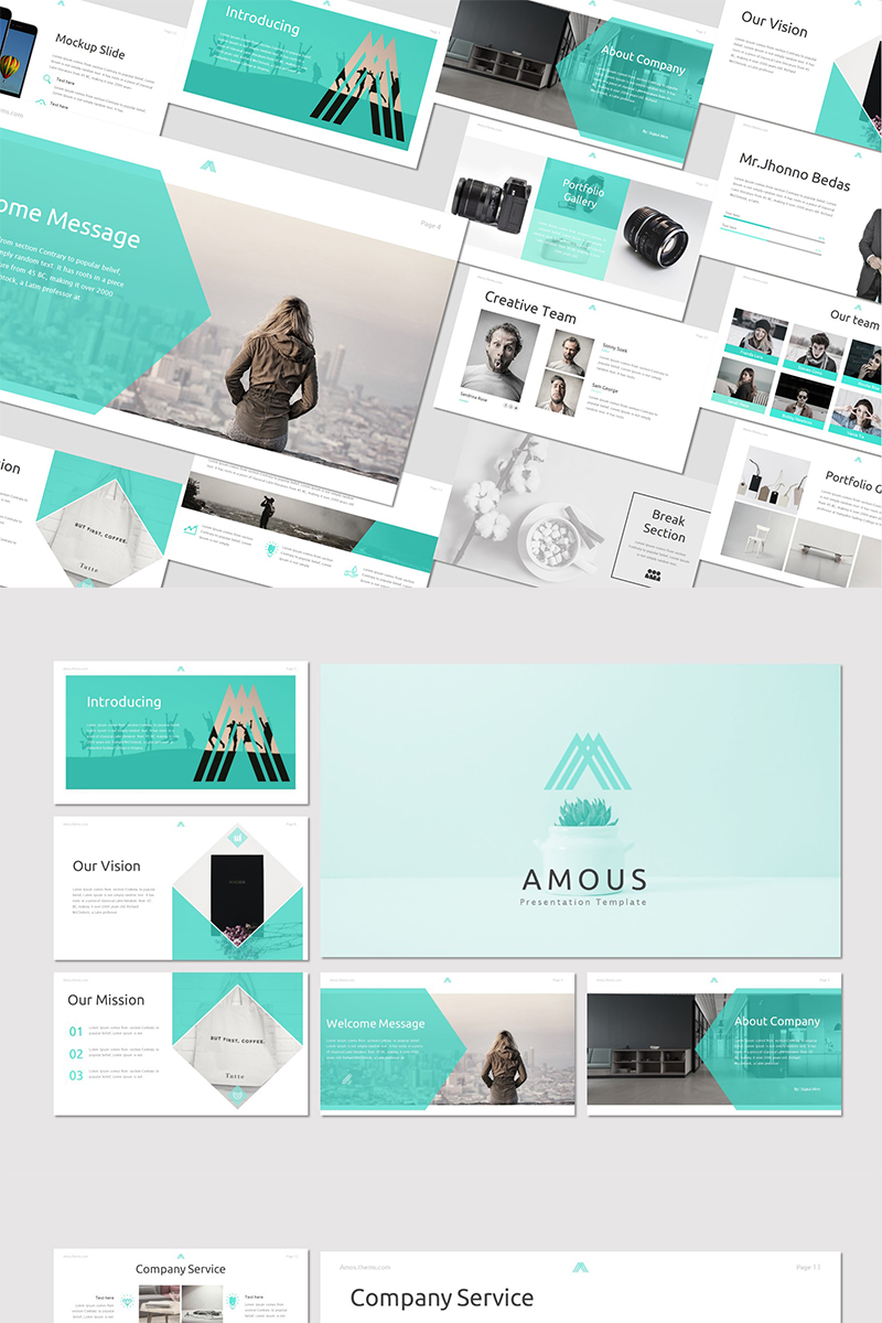 Amous PowerPoint Template