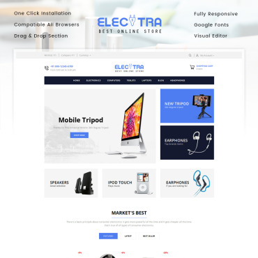 Website Template № 83224
