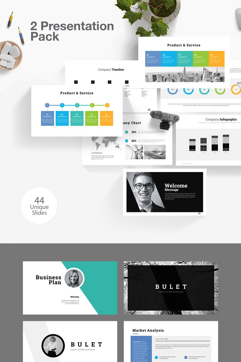 Business Plan 2 PowerPoint Template
