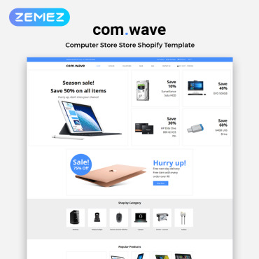 Template Electronice Shopify #83376