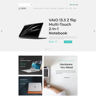 Website Template № 83440