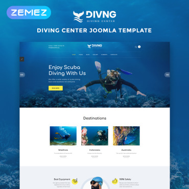 Website Template № 83528