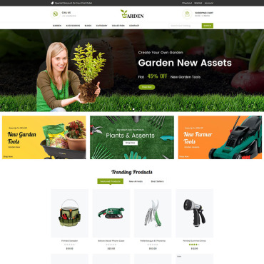 Website Template № 83648