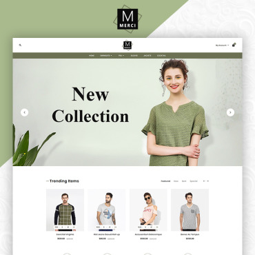 Website Template № 83776