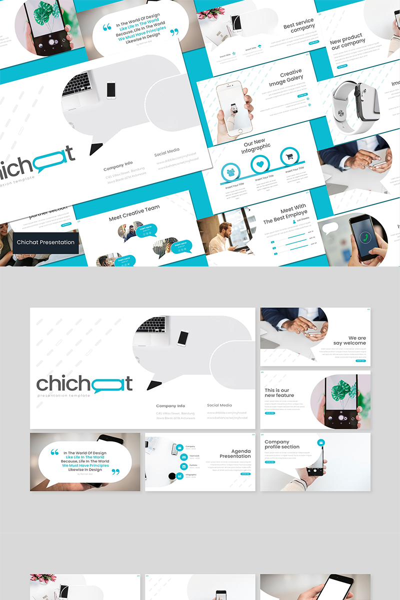 Chichat - PowerPoint Template