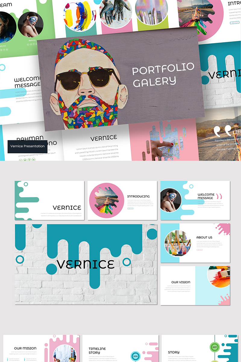 Vernice - PowerPoint Template