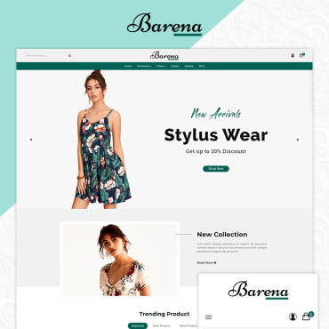 Website Template № 83798