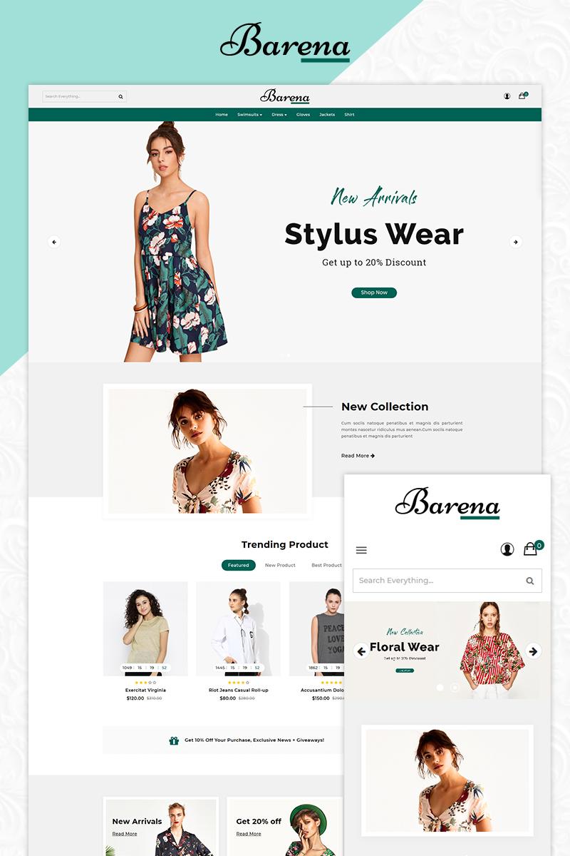 Banera Fashion OpenCart Template
