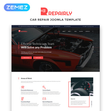Website Template № 83805