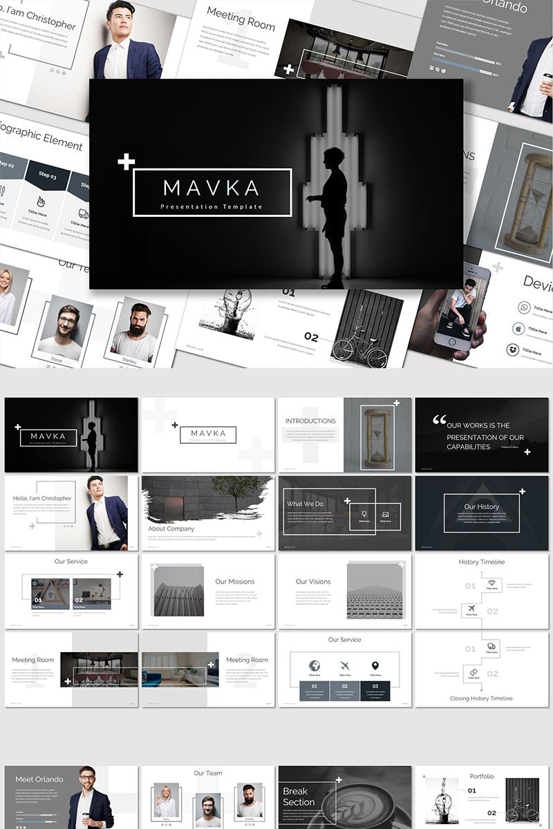 Mavka - PowerPoint Template