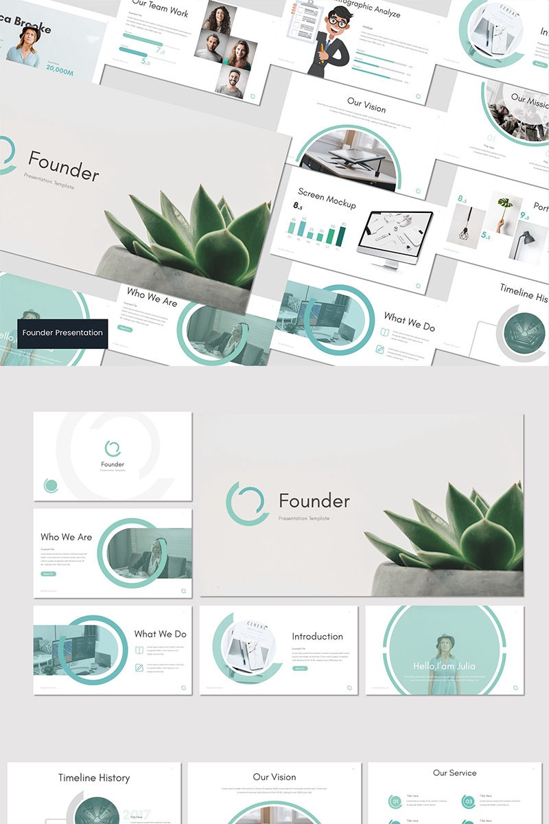 Founder - PowerPoint Template
