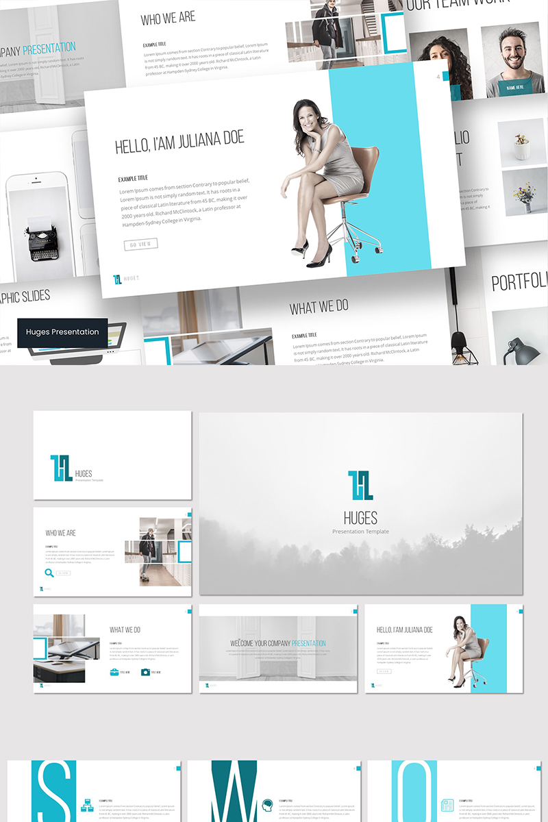 Huges - PowerPoint Template