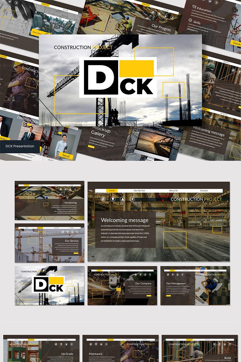 DCK - PowerPoint Template