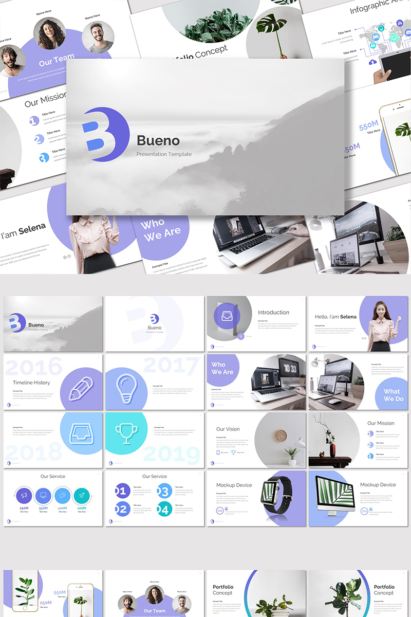 Bueno - PowerPoint Template
