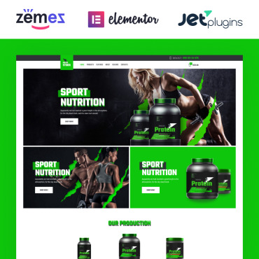 Template Sport WooCommerce #83878