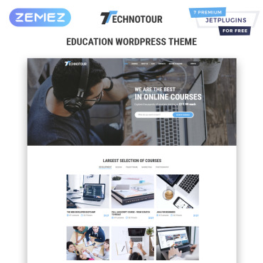 Template Educație WordPress #83931