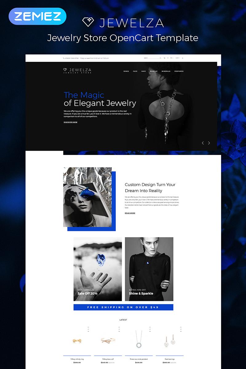 Jewelza - Gems Multipurpose Stylish OpenCart Template