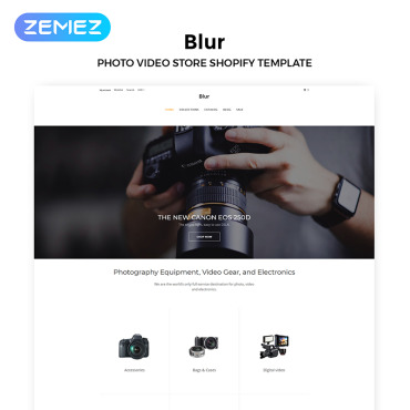 Template Electronice Shopify #83970