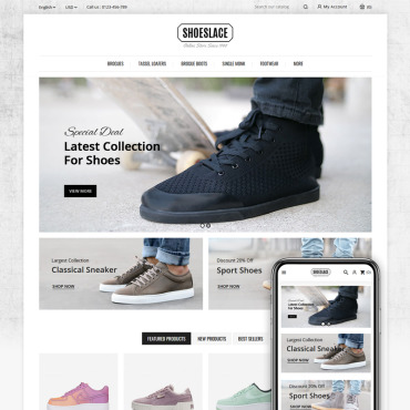 Website Template № 84013
