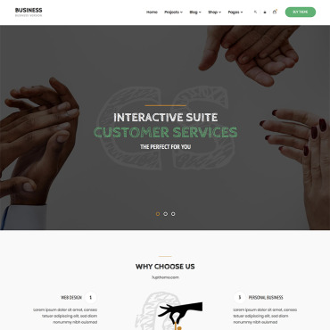 Website Template № 84158