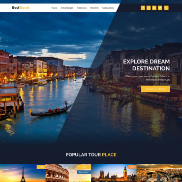 Website Template № 84159