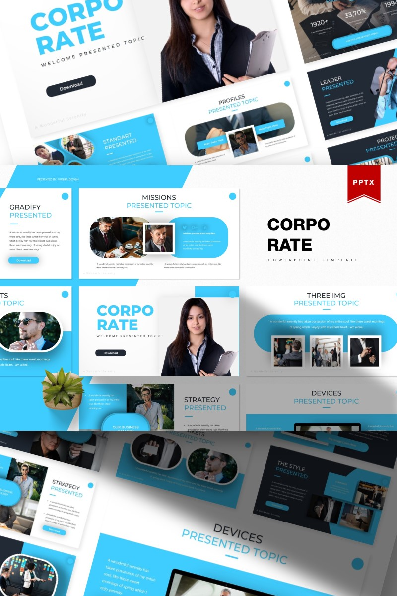 Corporate | PowerPoint Template