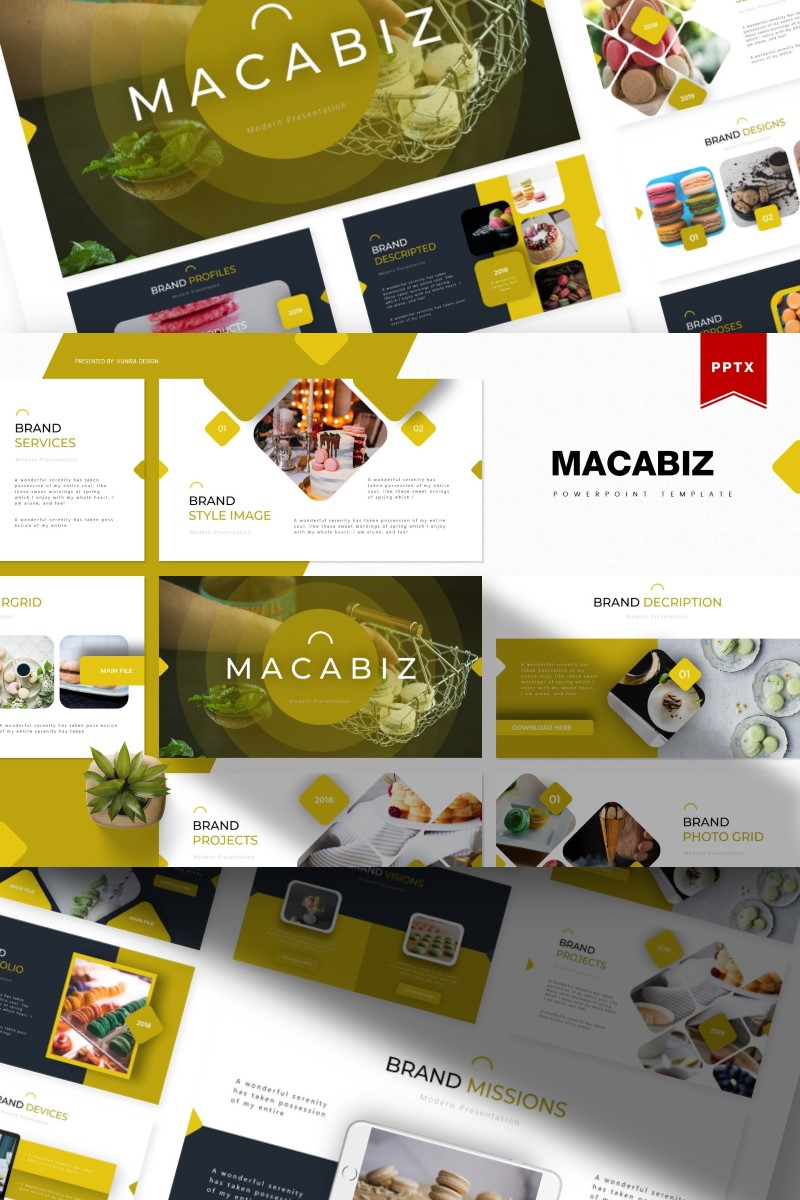 Macabiz | PowerPoint Template