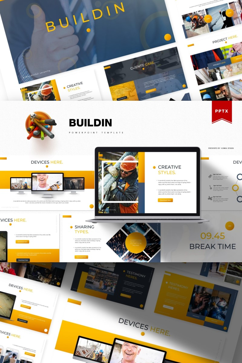 Buildin | PowerPoint Template
