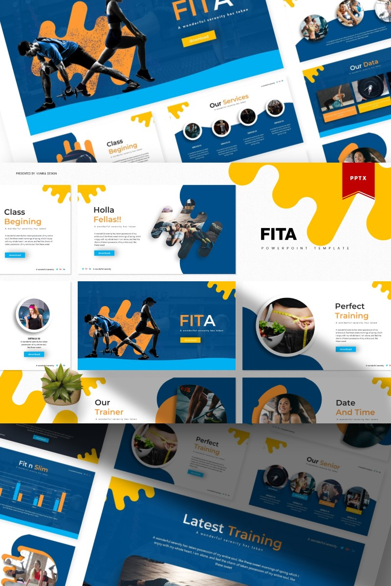 Fita | PowerPoint Template