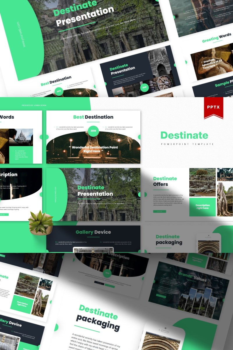 Destinate | PowerPoint Template