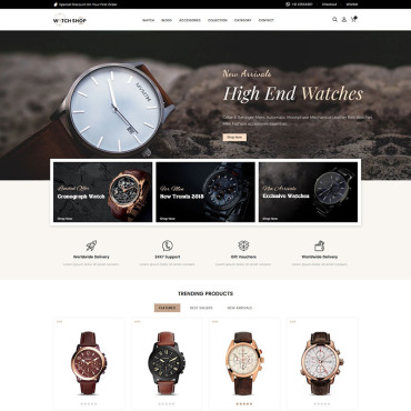 Website Template № 84702