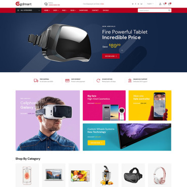 Website Template № 84705
