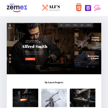 Website Template № 84789