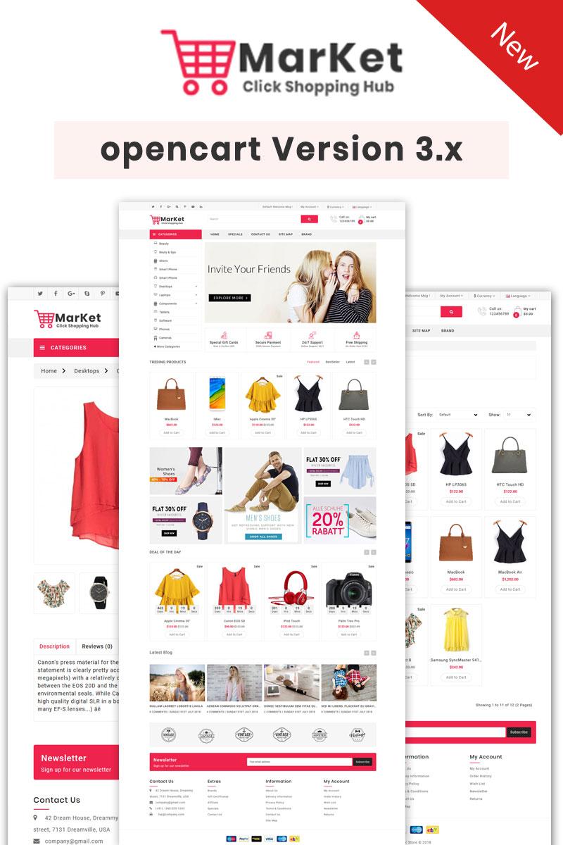 OpenCart šablony