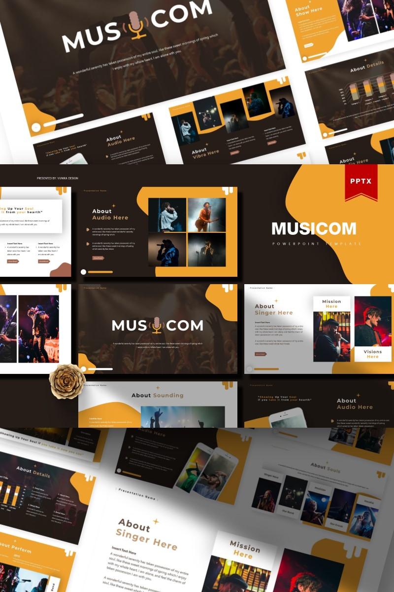 Musicom | PowerPoint Template