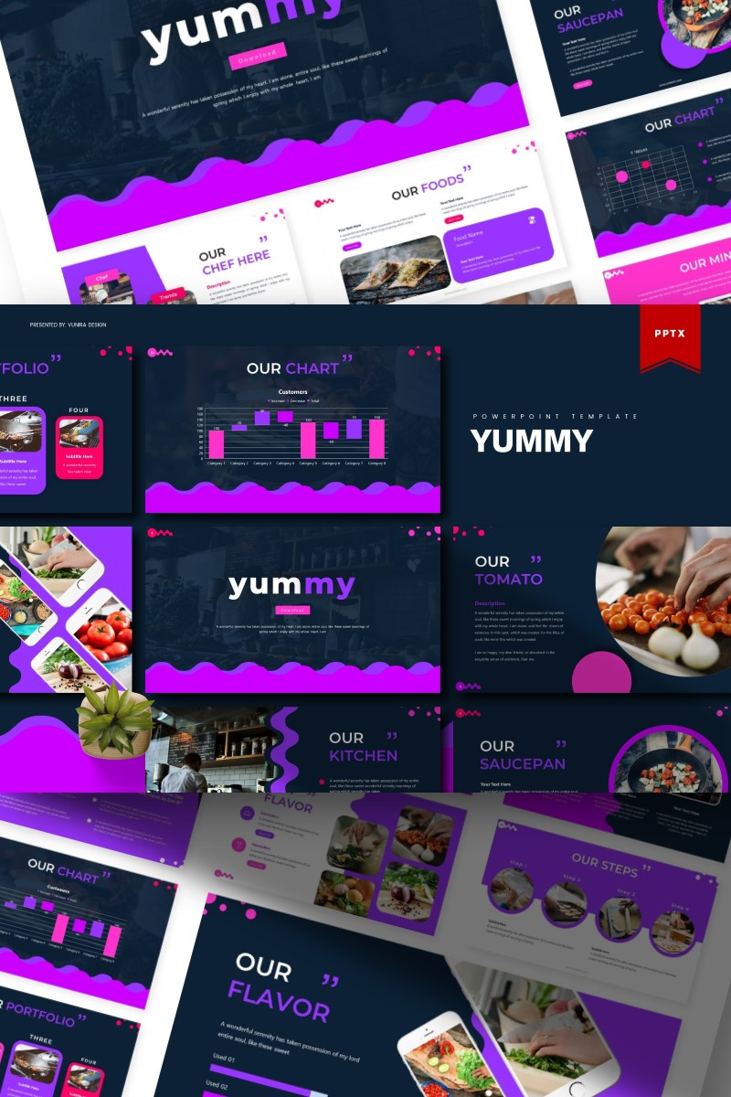 Yummy | PowerPoint Template