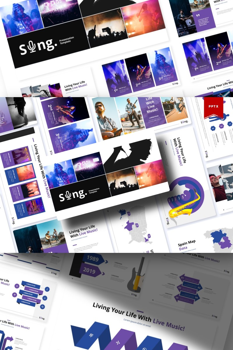 Sing | PowerPoint Template