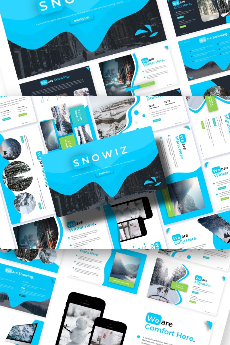 Snowiz | PowerPoint Template