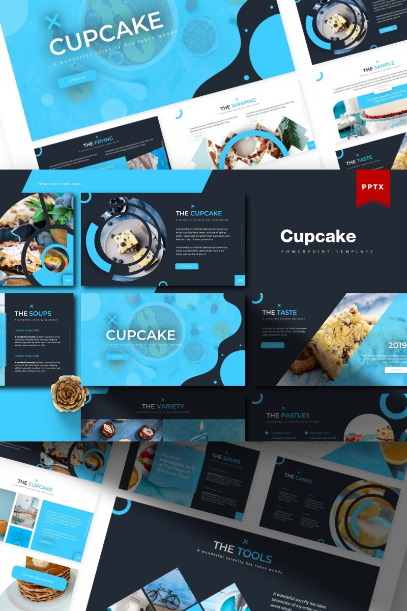 Cupcake | PowerPoint Template