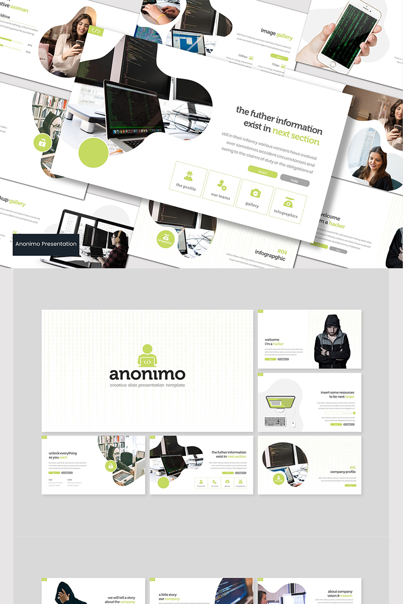 Anonimo - PowerPoint Template